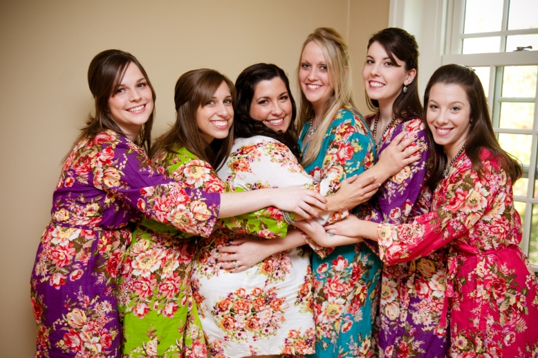 floral-print-robes-wedding-getting-ready