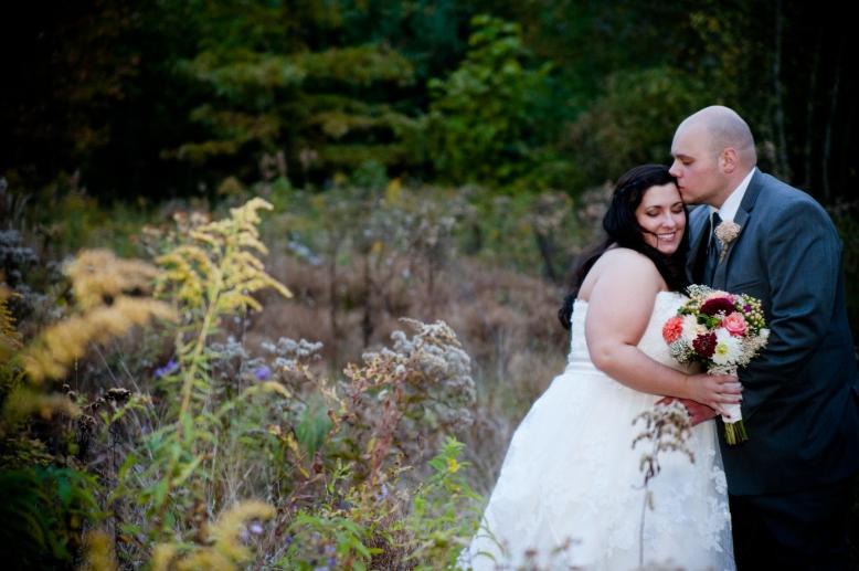 rustic bride groom portrait 2