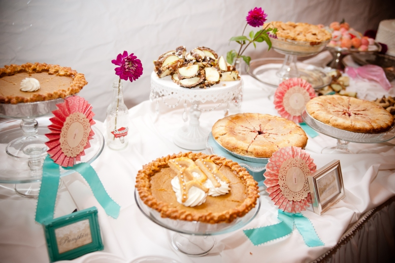 pie contest wedding