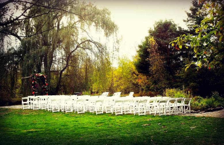 succop conservancy herb garden wedding