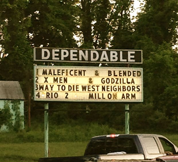 dependable drive-in movie theater