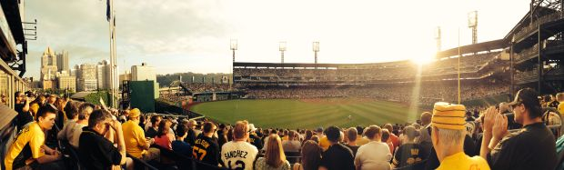 PNC Park at sunset