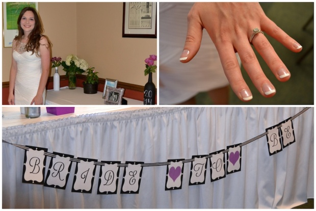 Bride to Be Banner, Bride at Bridal Shower | Life Is Sweet as a Peach