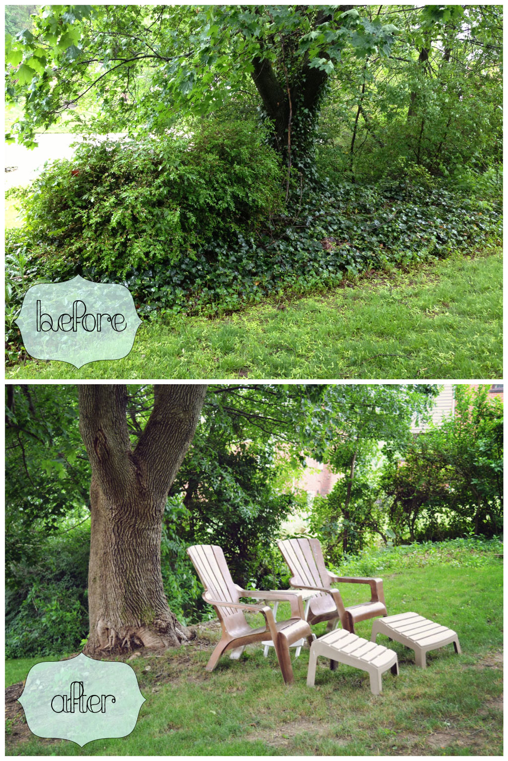 before and after backyard makeover u2013 life is sweet as a peach