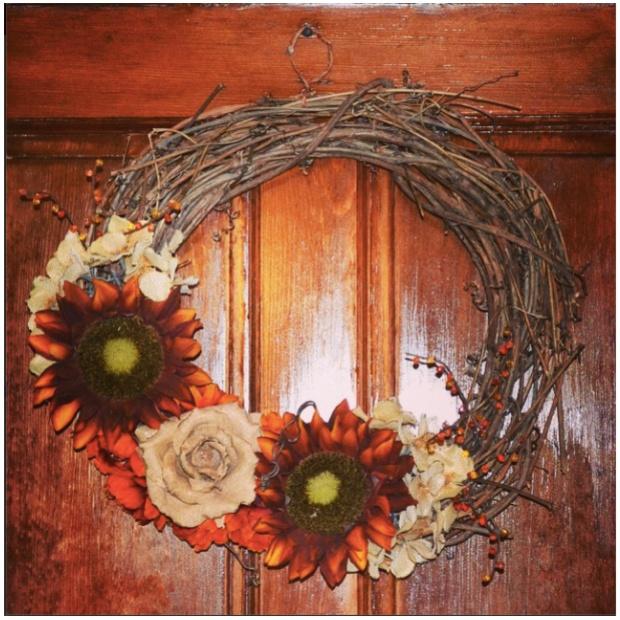 DIY Fall Wreath For Sale | Sweet As a Peach