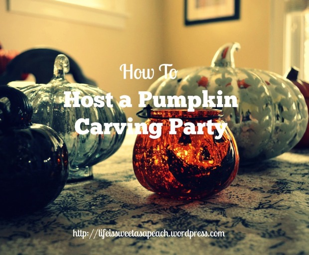 How to Host a Pumpkin Carving Party | Life Is Sweet As A Peach