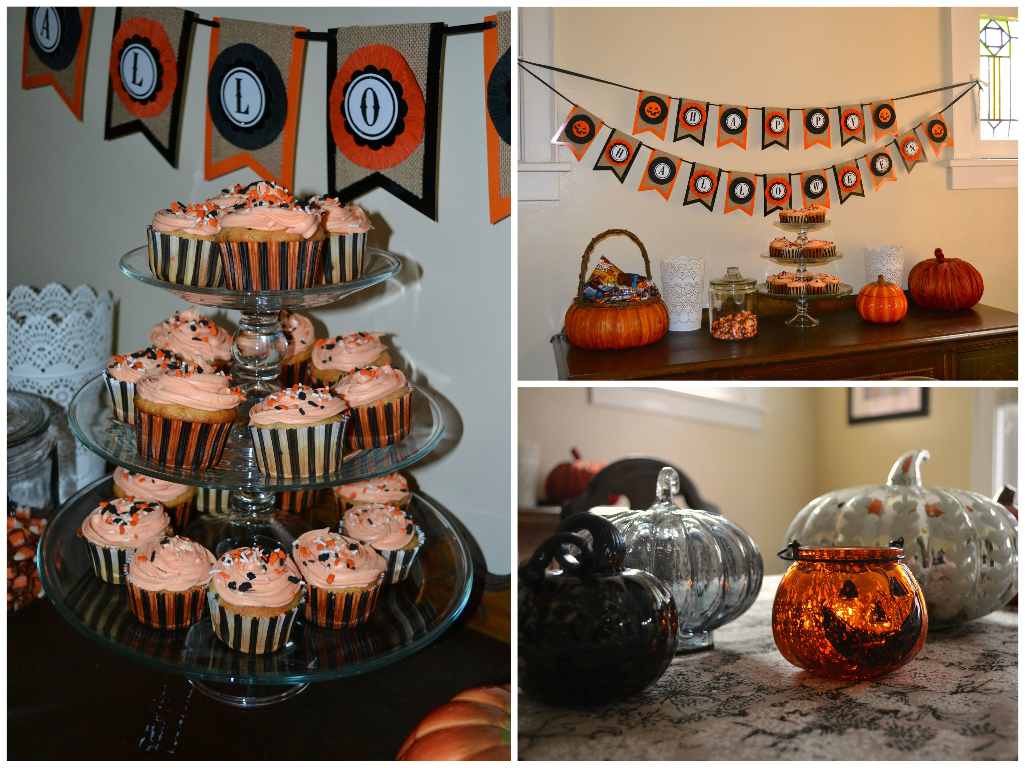 Pumpkin Carving Party Treats Sweet As A Peach - Pretty Halloween Decorations
