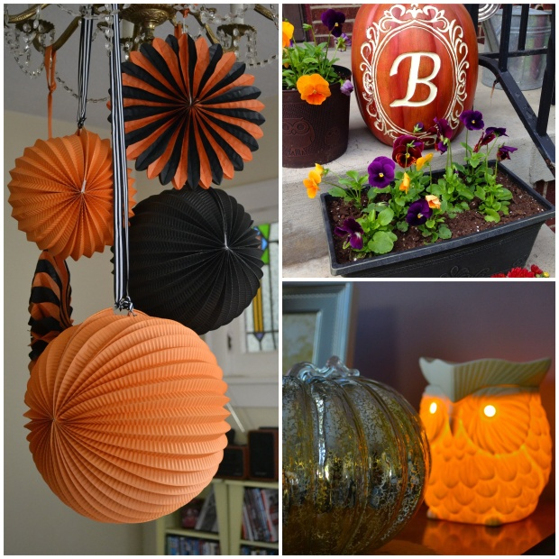 Pretty Halloween Decorations | Sweet As A Peach