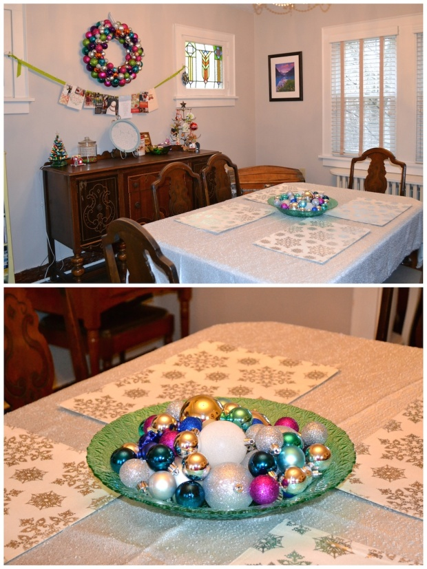 Christmas Dining Room Decorations | Sweet As A Peach
