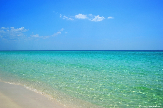 Destin, Florida Beach Clear Blue Waters | Life Is Sweet As A Peach
