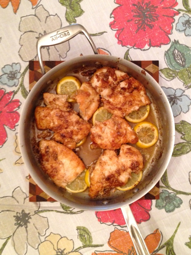 Lemon Pepper Butter Chicken | Life Is Sweet As A Peach
