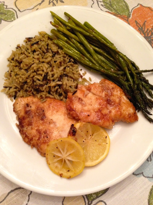Lemon Pepper Butter Chicken Dinner Recipe | Life Is Sweet As A Peach