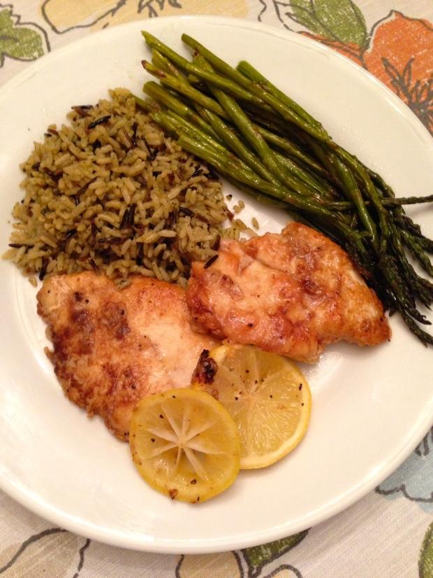 Lemon Pepper Butter Chicken Dinner Recipe | Life Is Sweet As A Peach