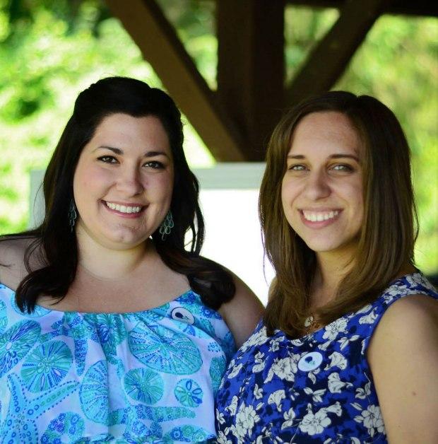 Aubrey & Rachel at Rachel's Baby Shower