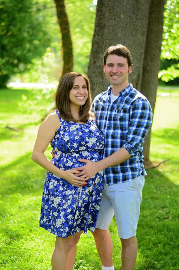 The cute expecting parents!