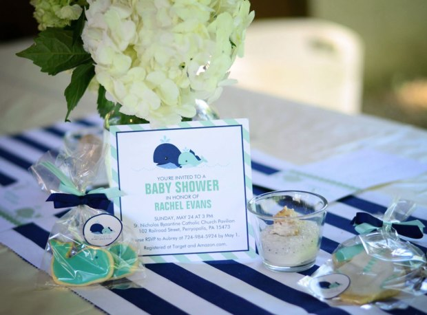Ahoy It's a Boy Baby Shower Banner and Decorations | Life Is Sweet As A Peach