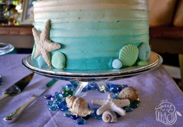 Blue Ombre Cake | Life Is Sweet As A Peach