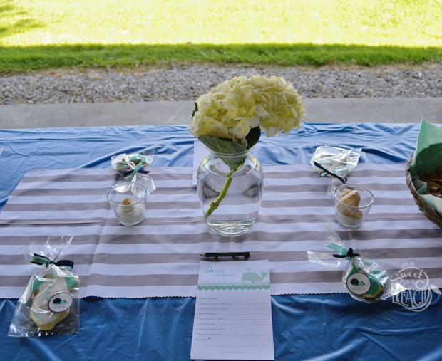 Nautical Baby Shower Centerpieces | Life Is Sweet As A Peach