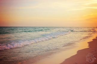 Destin Florida Beach Sunset | Life Is Sweet As A Peach