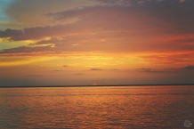 Dusk Sunset Over Gulf of Mexico | Life Is Sweet As A Peach