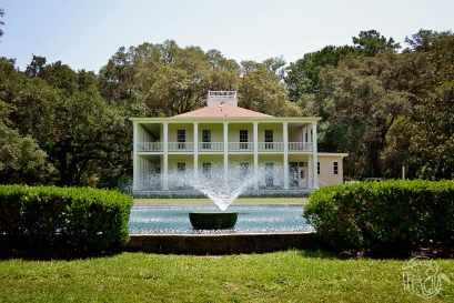 Eden Gardens State Park Fountain | Life Is Sweet As A Peach