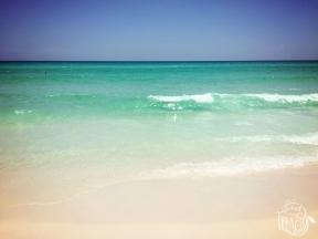 Destin Beach Green Water Photo | Life Is Sweet As A Peach