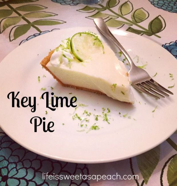 Key Lime Pie | Life Is Sweet As A Peach