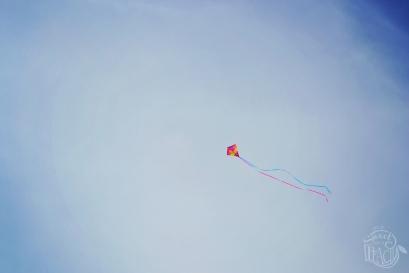 Kite On The Beach | Life Is Sweet As A Peach