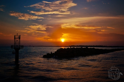 Sunset Over Destin Harbor | Life Is Sweet As A Peach