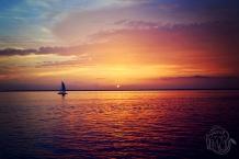 Sunset Sailboat Silhouette Destin Florida | Life Is Sweet As A Peach