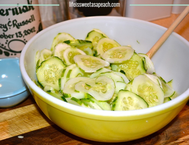 Refrigerator Pickles Recipe | Life Is Sweet As A Peach