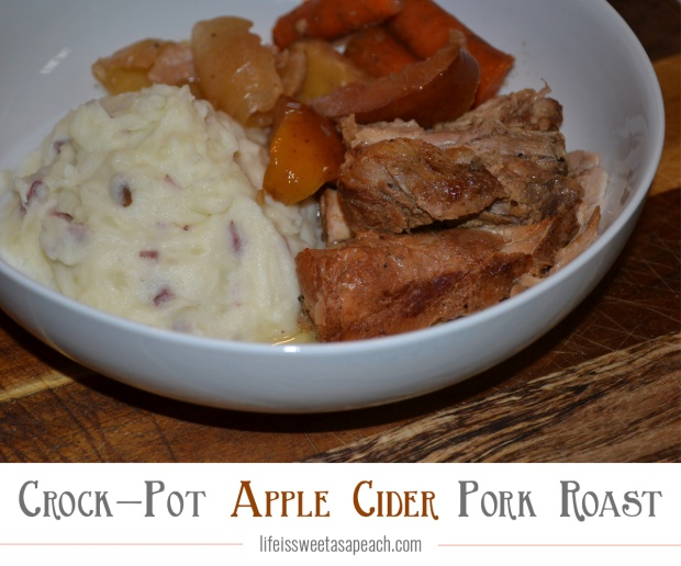 Crock-Pot Apple Cider Pork Roast Recipe | Life Is Sweet As A Peach
