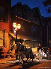 Horse and Carriage Ride in Jim Thorpe PA | Life Is Sweet As A Peach