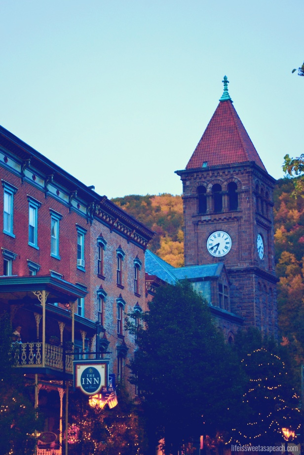 Jim Thorpe PA Clock Tower | Life Is Sweet As A Peach