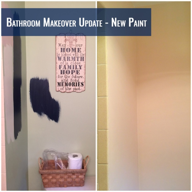 Bathroom Makeover Update: New Paint | Life Is Sweet As A Peach