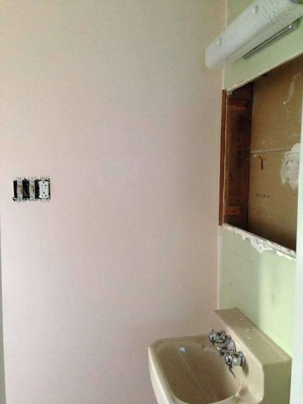 Bathroom Paint Project | Life Is Sweet As A Peach