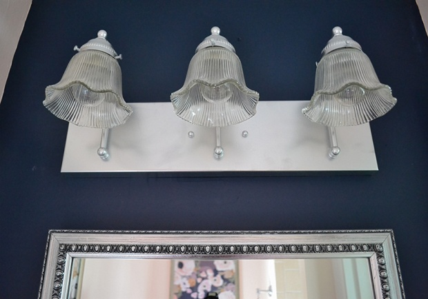 Spray Painted Light Fixture Makeover | Life Is Sweet As A Peach