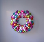 Pink Rainbow Ornament Wreath | Life Is Sweet As A Peach