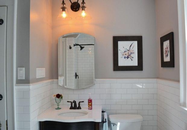 White Subway Tile Bathroom | Life Is Sweet As A Peach