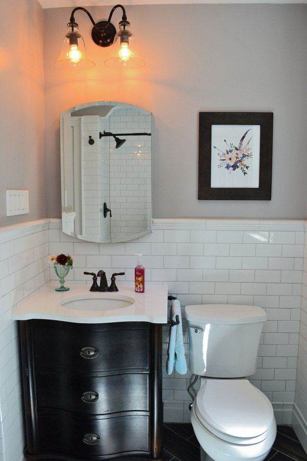 1930s Bathroom Makeover | Life Is Sweet As A Peach