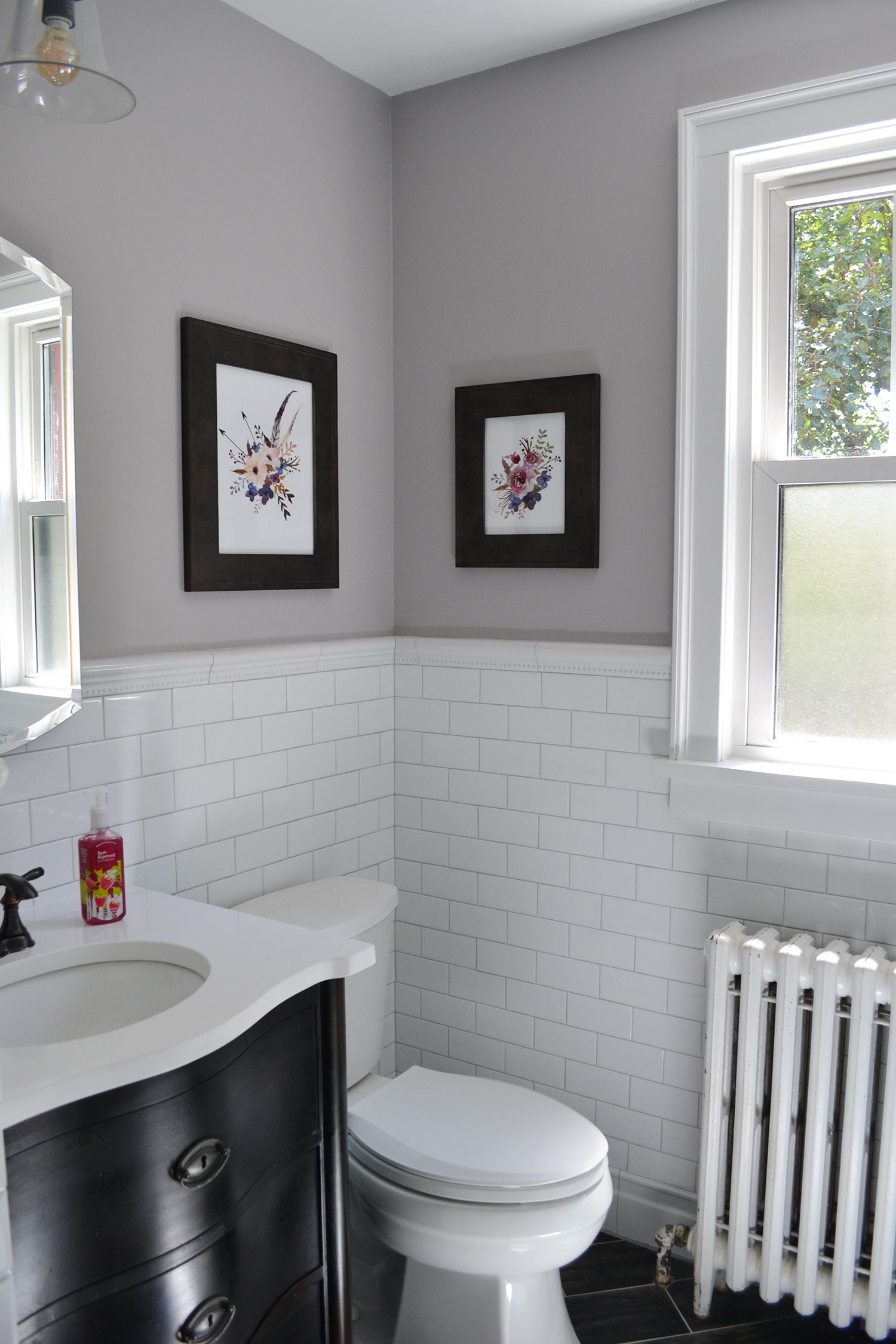 S Bathroom Remodel Reveal Life Is Sweet As A Peach - Total bathroom remodel
