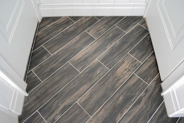 Diagonal Wood Floor | Life Is Sweet As A Peach