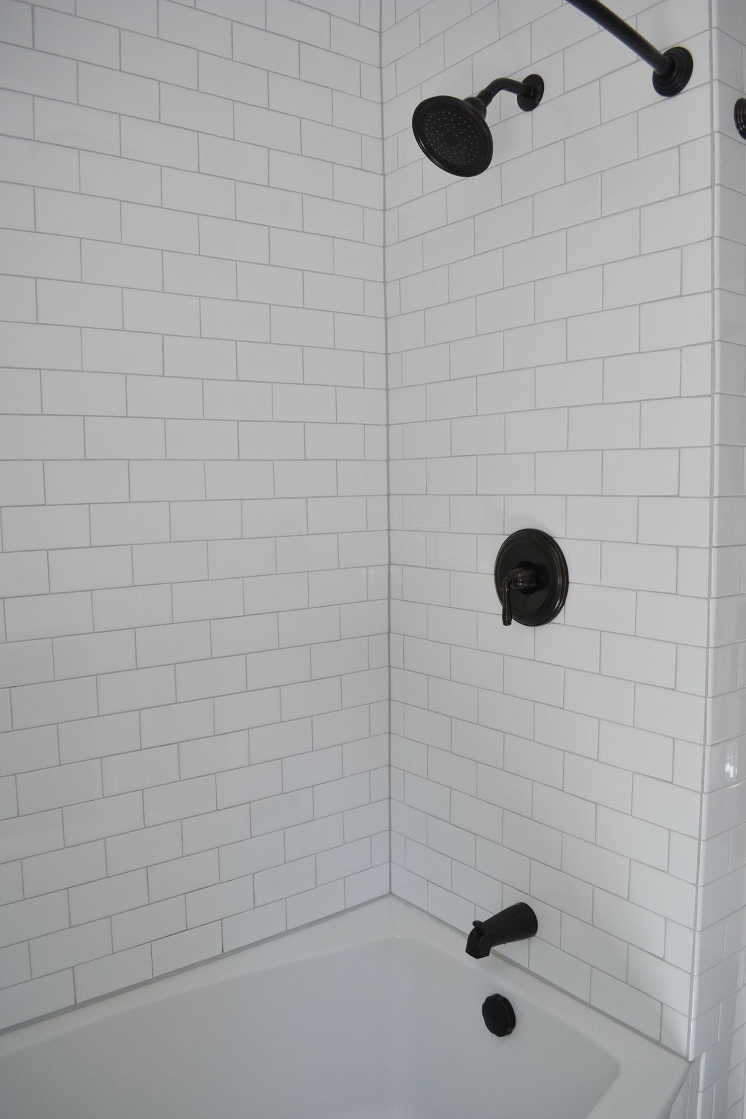 Wonderful 16 Inch Ceiling Tiles Tiny 2 X 12 Ceramic Tile Round 20X20 Ceramic Tile 2X4 Ceiling Tiles Home Depot Old 6 X 6 Ceramic Wall Tile Dark8X8 White Floor Tile 1930s Bathroom Remodel \u2013 Reveal \u2013 Life Is Sweet As A Peach