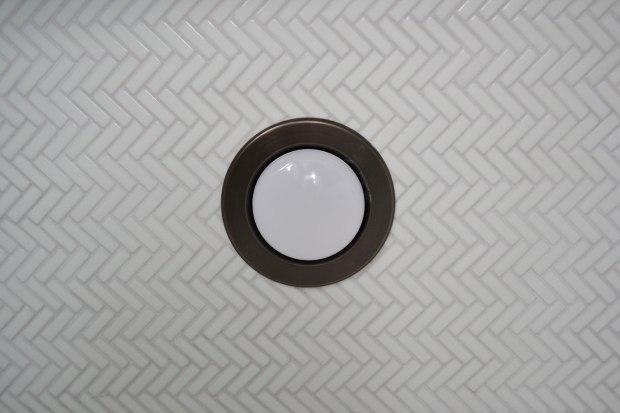 Herringbone Tile Shower Ceiling | Life Is Sweet As A Peach