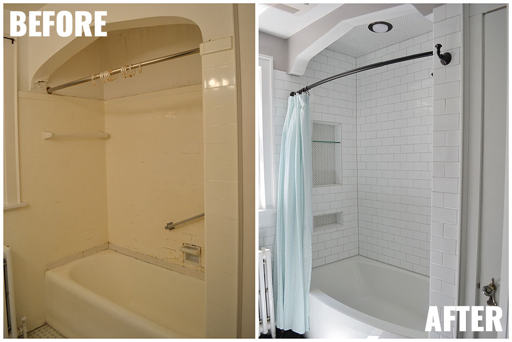 1930s Bathroom Makeover Before U0026 After | Life Is Sweet As A Peach