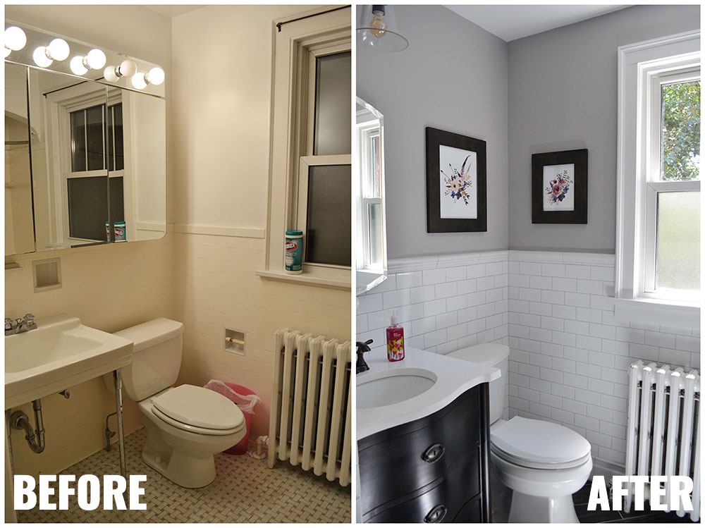 1930s Bathroom Remodel Reveal Life Is Sweet As A Peach