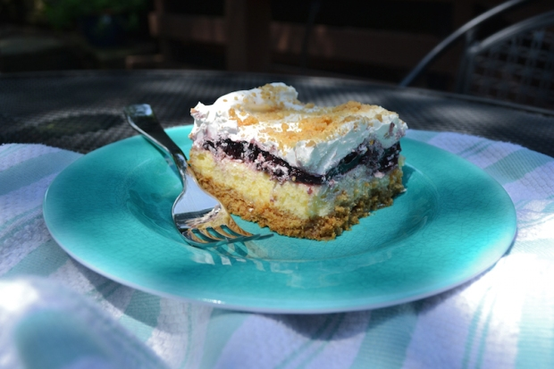 Blackberry Cheesecake Dessert Recipe | Life Is Sweet As A Peach