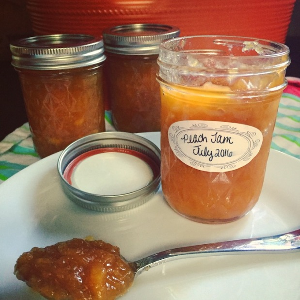 Homemade Peach Jam | Life Is Sweet As A Peach