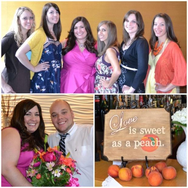 Sweet As A Peach Bridal Shower | Life Is Sweet As A Peach